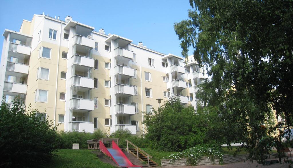 Kuvassa Hekan kiinteistö Munkkiniemessä osoitteessa Huopalahdentie 3.
