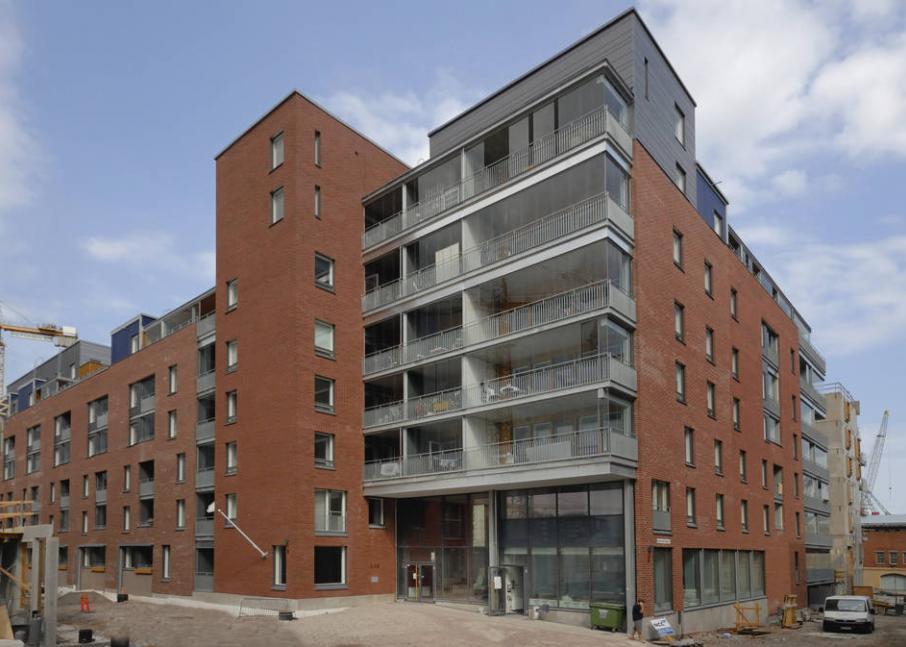 Hekan kiinteistö Jätkäsaaressa osoitteessa Kap Hornin katu 3