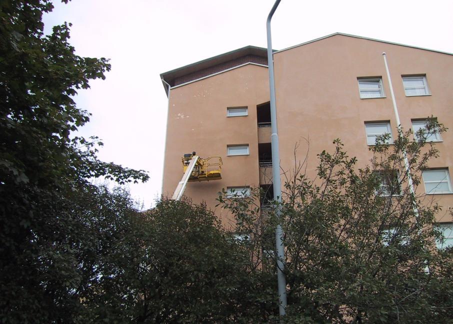 Kuvassa Hekan kiinteistö Vallilassa osoitteessa Hämeentie 63.